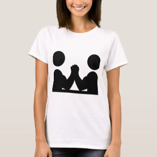 arm wrestling icon T-Shirt