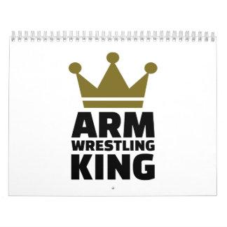 Arm wrestling king calendar