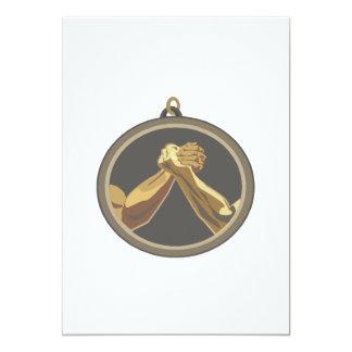 Arm Wrestling Medal 5x7 Paper Invitation Card