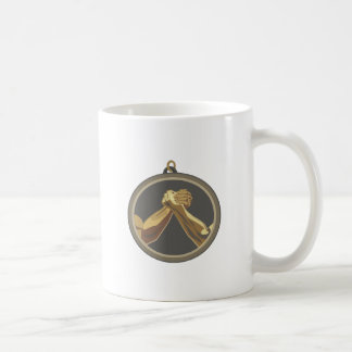Arm Wrestling Medal Classic White Coffee Mug