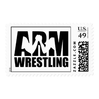 Arm wrestling postage