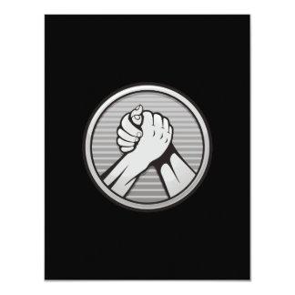 Arm wrestling Silver Card