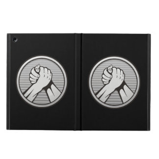 Arm wrestling Silver iPad Air Cover