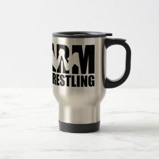 Arm wrestling travel mug