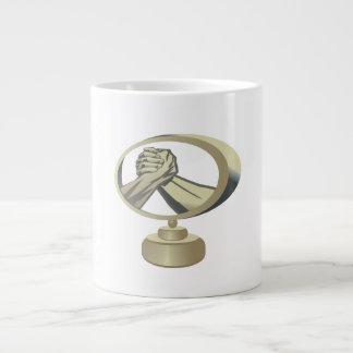 Arm Wrestling Trophy Giant Coffee Mug
