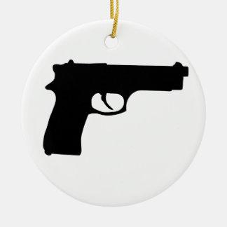 Arma Adorno Navideño Redondo De Cerámica