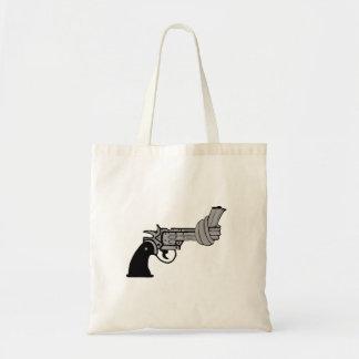 Arma anudado bolsas de mano