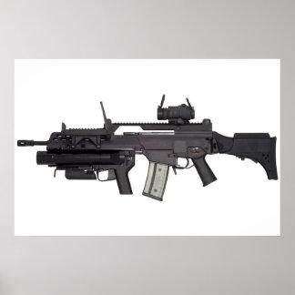 Arma automática G36 Póster