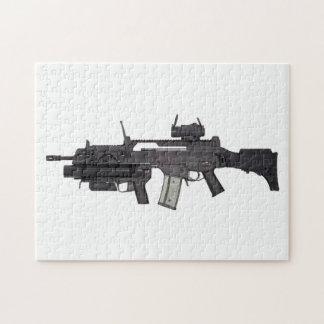 Arma automática G36 Puzzle