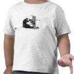 Arma automático de la máxima camisetas