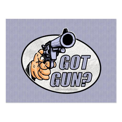 ¿Arma conseguido? … Tarjeta Postal
