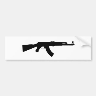 Arma de Ak47 Pegatina De Parachoque