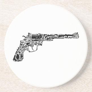 Arma de armas posavasos personalizados