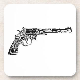 Arma de armas posavasos de bebidas