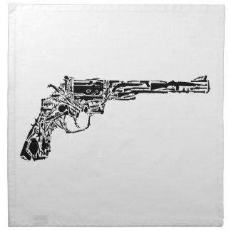 Arma de armas servilleta imprimida