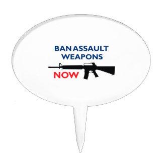 Arma de asalto de la prohibición palillos de tarta