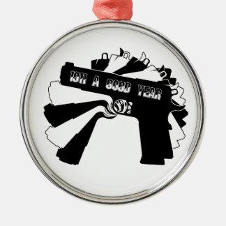 Arma de fuego 1911 (un buen año) adorno de reyes