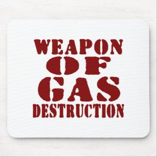 Arma de la destrucción del gas tapetes de ratones