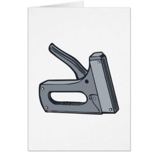 Arma de la grapa tarjeta pequeña