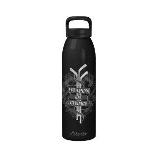 Arma de la opción botellas de agua reutilizables