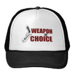 Arma de la opción gorras