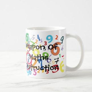 Arma de la taza de la destrucción de la matemática
