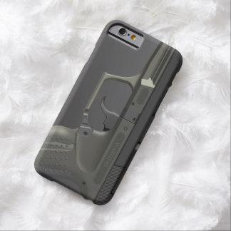 Arma de mano automática funda de iPhone 6 barely there