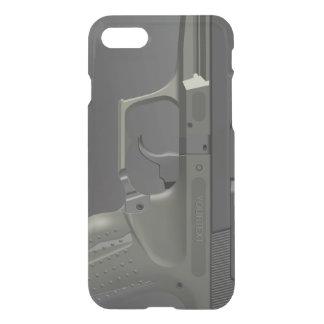 Arma de mano automática funda para iPhone 7