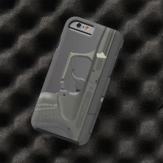 Arma de mano automática funda resistente iPhone 6