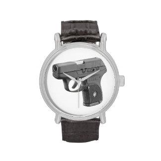 arma de mano de los 9MM Reloj De Mano