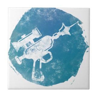 Arma de rayo 21 azulejo cuadrado pequeño