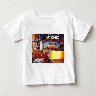 arma de rayo atómico del hombre del espacio playera de bebé