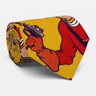 Arma de rayo del carácter del cómic del juguete corbata personalizada