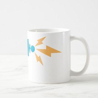 Arma de rayo tazas de café