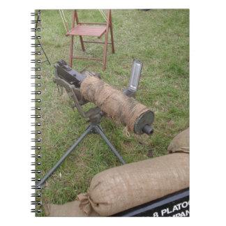 Arma de Vickers Libro De Apuntes