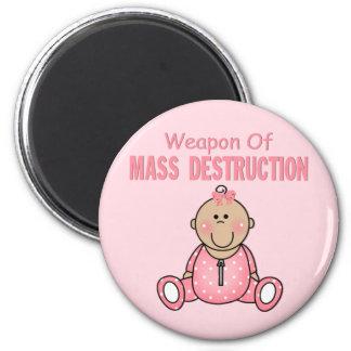 Arma del chica de la destrucción total imán