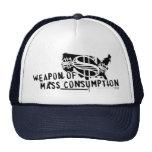 Arma del consumo total gorras