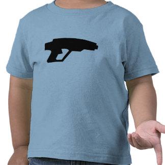 Arma del laser camisetas