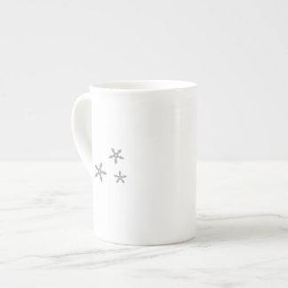 arma del ninja taza de porcelana