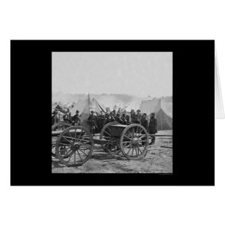 Arma del obús y la brigada 1862 de Butterfield Tarjeta De Felicitación