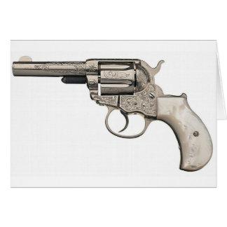 Arma del vintage tarjeta de felicitación