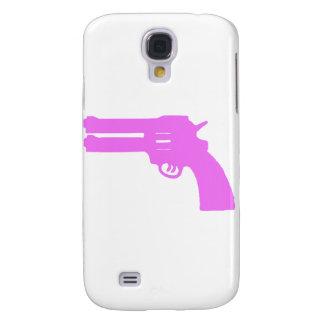 Arma doble rosado del amor funda para galaxy s4