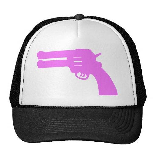 Arma doble rosado del amor gorro de camionero