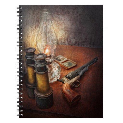 Arma - el código de las aventuras libreta
