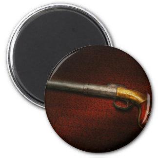 Arma - el hierro de tiroteo iman para frigorífico