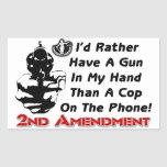 ¡Arma en mi mano! Rectangular Altavoces