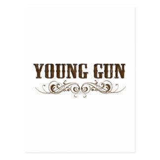 arma joven tarjetas postales