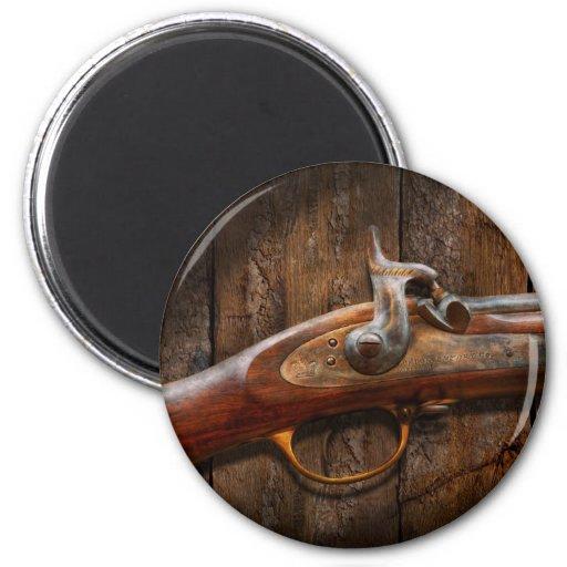 Arma - mosquete - arsenal de Londres Imán De Frigorifico