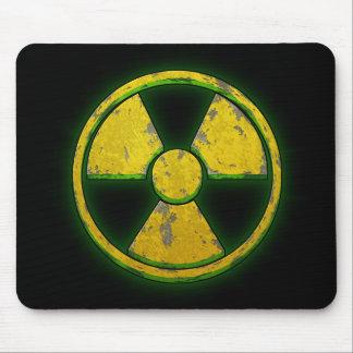 Arma nuclear amarilla tapete de raton