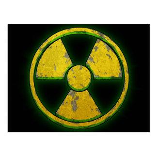 Arma nuclear amarilla postales